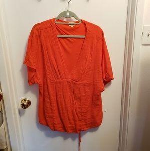 Ella Moss soft blouse-size L